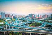 Interchange overpass — Stock Photo