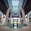 Fish-eye view of modern building — Stock Photo #28157889