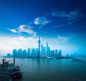 Daybreak şanghay — Stok fotoğraf