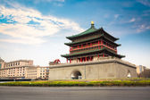 Ancient city xian bell tower — Stok fotoğraf
