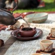 Traditional tea ceremony — Stock Photo