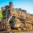 Vintage steam train — Stock Photo #32462483