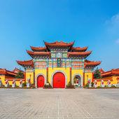 Chinees boeddhistische tempel — Stockfoto