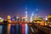 Güzel gece shanghai — Stok fotoğraf