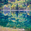 Tranquil lake in autumn — Stock Photo