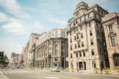 Eski binalarda shanghai bund — Stok fotoğraf