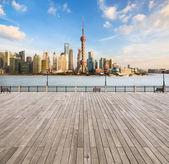Modern cityscape in shanghai — Stock Photo