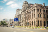 Cityscape of the bund in shanghai — Stock Photo