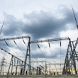 Stock Photo: Transformer substation