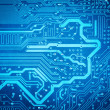 Circuit board background — Stock Photo