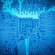 Computer circuit board background — Stock Photo