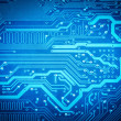 Circuit board background — Stock Photo #39996497