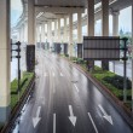 Under the city interchange — Stock Photo #45420775