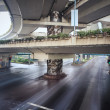Under the elevated road — Stock Photo #45420823