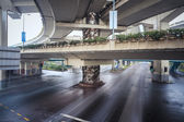 Under the elevated road — Stock Photo