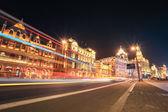Shanghai bund street at night — Stock Photo