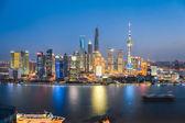 Beautiful night in shanghai  — Stock Photo