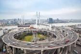Shanghai nanpu bridge — Stock Photo