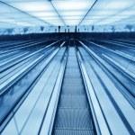 Downward escalator — Stock Photo #47339131
