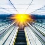Abstract escalator — Stock Photo #47339341