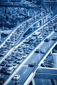 Traffic jams — Stock Photo