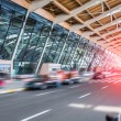 Airport terminal background — Stock Photo #48932779