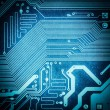 Circuit board texture closeup — Stock Photo #50558051