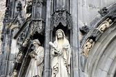 Aachen Cathedral, Details of the Architecture — Stock Photo
