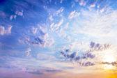 Celestial landscape — Stock Photo