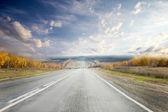 Op de weg — Stockfoto