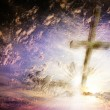 Stock Photo: Cross against the sky