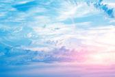太阳能的天空 — 图库照片