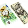 Time for money — Stock Photo