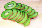 Fruit of kiwi — Stock Photo