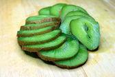 Fruit of kiwi — Stock Photo