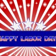 Stock Vector: Labor Day.