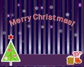 Christmas stickers — Vector de stock