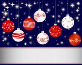 Vánoce a nový rok nápis. — Stock vektor