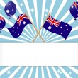 Stock Vector: AustraliDay. Festive banner.