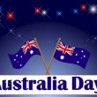 Stock Vector: Australia Day background.