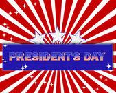 President's Day. — Stock Vector