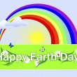Earth Day banner. — Stock Vector