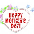 Stickers Mother's day. — Imagen vectorial