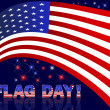 American Flag Day. — Stock Vector