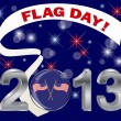 American Flag Day. - Stock Vector