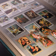 Stock Photo: Collections of philatelist