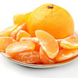 Mandarin - Stock Photo