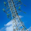Stock Photo: High voltage electric pole