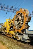 Rotor grävmaskin — Stockfoto