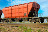 Hopper wagon — Stock Photo